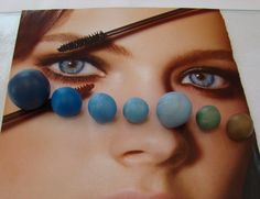 Eye Tutorial - Renata Jansen One of a Kind OOAK 3D Paintings in Clay - Polymer Sculptures
