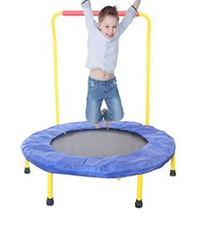 Children's Mini Trampoline - Nursery Bouncer - Early Education Exercise Toy - Preschool Firtness Toys - EarlyLAUNCH Fine Motor Skills - 36 In. Limit - Active Learning Jumper Ages 3 & Up Best Fitness Tracker Watch, Up Fitness, Fitness Motivation, Workout Gear, Fun Workouts, Trampoline Workout, Early Education, Fine Motor Skills, Learning Activities