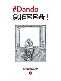 Diseño de portada y maquetación del libro recopilatorio de humor gráfico #Dando Guerra!, del viñetista Pedro Sainz Guerra, editado por el portal de información Último Cero. Editorial. Portadas. Libros. Book covers.