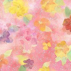 Quilting Treasures Sun-Kissed Tossed Blooms