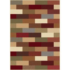 @Overstock.com - Multi Color Collection Area Rug (7'6 x 9'10)  - This multicolored machine-made rug has an abstract pattern with shades of blue, red, and green to complement almost any color scheme. Constructed of durable synthetic fibers, the rug will protect your floors and add a bold splash of color to the room.  http://www.overstock.com/Home-Garden/Multi-Color-Collection-Area-Rug-76-x-910/5770860/product.html?CID=214117 $141.89