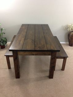 Farmhouse Table / Farm Table / Harvest Table by EzekielandStearns