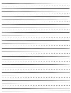 Large lined writing paper