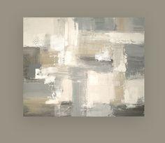 Art Abstract Acrylic Painting Original on by OraBirenbaumArt