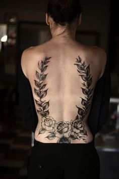 Low Back Tattoos for women. Lower Back Tattoos Roses Tattoo Girls, Girl Back Tattoos, Back Tattoo Women, Tattoos For Women, Lower Back Tattoo Designs, Lower Back Tattoos, Cover Up Tattoos, Body Art Tattoos, Cat Tattoos