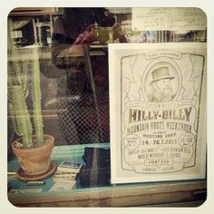 #näyteikkunassa #Windowshopping #Kallio #juliste #hillbilly