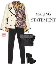 """Top by MARY KATRANTZOU"" by fashionmonkey1 ❤ liked on Polyvore"