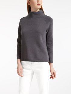 Max Mara OSVALDO light grey: Cashmere sweater.