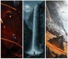 Comic-Con 2012: un nuovo poster Mondo per Il Signore degli Anelli