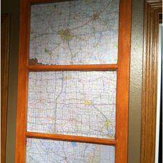 Maps and repurposed window...