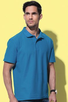 Tricou polo bărbați Stedman din 100% bumbac.  Brodarea sau imprimarea acestui tricou polo cu logo, nume, sau meajul tau. #tricouri #polo #personalizate #imprimate #brodate #logo #sigla #mesaj Logo Nasa, Polo Shirt, Polo Ralph Lauren, Mens Tops, Shirts, Polos, Shirt, Polo Shirts, Dress Shirts