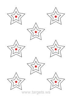 Print your own star shooting targets for free. All free printable star targets are available in PDF format. Shooting Club, Shooting Practice, Shooting Bench, Shooting Targets, Shooting Sports, Shooting Guns, Shooting Range, Bucket List Quotes, Bucket Lists