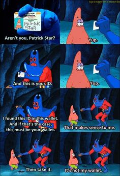 Spongebob Squarepants Man Ray Wallet