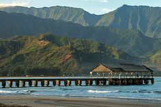 Hanalei pier - I've walked this....amazing!