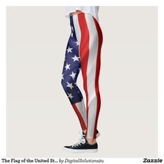 The Flag of the United States of America Leggings
