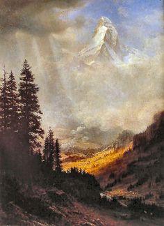 The Matterhorn by Albert Bierstadt
