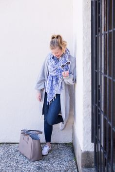 Perfect Oversized Cardigan for Spring // Spring Weekend Style
