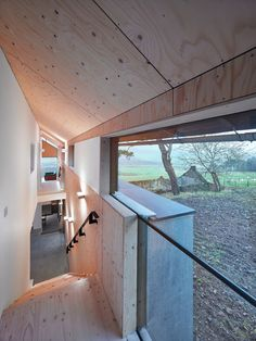 The blackened timber walls of this family holiday home are hidden within the shell of an old stone mill in the Scottish countryside. Architecture Journal, Architecture Old, Architecture Details, Timber Planks, Timber Walls, Architectural Association, Dream House Interior, House Layouts, Elle Decor
