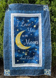 Dog Quilts, Amish Quilts, Baby Quilts, I Love Mommy, I Love You, Picnic Quilt, Picnic Blanket, Bachelor Gifts, Welcome Home Gifts