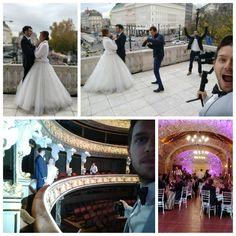 Včera sme natáčali v Modrom kostolíku, v modre, v modrom dome a bolo to dobré 😂⠀ Krásny mladý párik vstúpil do manželstva ❤️⠀ #wedding #necowinery #snd #slovenskenarodnedivadlo #minodebnar #minodebnarvisuals