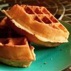 Waffles! 5 min prep time.