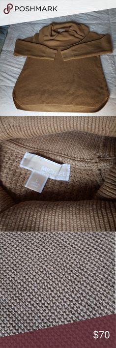 Michael Kors Cowl Neck Sweater Cozy Michael Kors sweater only worn once! Michael Kors Sweaters Cowl & Turtlenecks