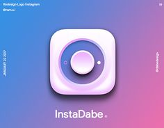 "Check out new work on my @Behance portfolio: ""Redesign Logo Instagram"" http://be.net/gallery/48563873/Redesign-Logo-Instagram"