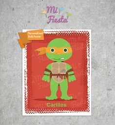 Personalized Poster of inspired Superheroes letters by MiFiesta, $7.99