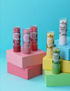 """Keep your lips juicy with """"the fruit kiss caring"""" lip balm! It's enriched with valuable, fruity ingredients that gently nourish the lips and offer intensive protection. Hydrating Lip Balm, Kissing Lips, Makeup Brands, Lip Care, Skin Makeup, Liquid Lipstick, Beauty Care, Lip Gloss, Beauty Makeup"""