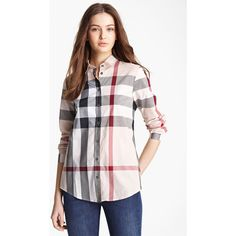 7aba3d7131cb2 Burberry Brit Check Woven Shirt available at God