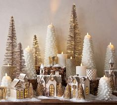Create a festive table with Christmas table decorations from Pottery Barn and entertain with style. Find Christmas centerpieces, candles, lights and more. Christmas Mantels, Noel Christmas, Winter Christmas, Christmas Crafts, Christmas Music, Pottery Barn Christmas, Cheap Christmas, Homemade Christmas, Christmas Lights