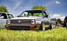 The volks nation Vw Mk1, Volkswagen Golf, Golf Mk2, Ocean City, Dream Cars, Euro, Low Rider, Mad Max, Slammed