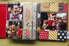 Jen's Happy Place: Disney Sn@p 6x8 Album using Simple Stories' Say Cheese Line