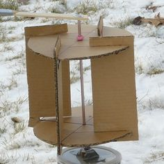 Alternative Energy DIY, from cardboard wind turbines to portable solar chargers made with altoid tins.