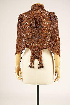 Dolman Date: ca. 1890 Culture: French Medium: silk