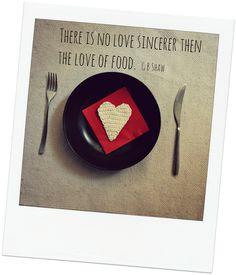 Crochet Love Valentine's quote food, Uncinetto Aforismi Amore Cibo cuore
