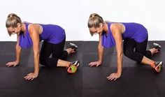 3. Kneeling Adduction: This unique adduction exercise uses the added resistance of gravity to challenge your inner thighs. How to do it: Get