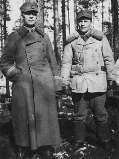Finnish officers - continuation war, pin by Paolo Marzioli
