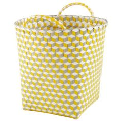Kids Storage: Strapping Storage Bin Collection in Storage Collections Kids Storage Bins, Toy Storage, Storage Boxes, Construction Bedroom, Tumbling Blocks, Festive Crafts, Diy Bags Purses, Nursery Storage, Craft Bags