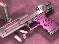 Desert Eagle 50 Cal hello KittyLoading that magazine is a pain! Get your Magazine speedloader today! http://www.amazon.com/shops/raeind
