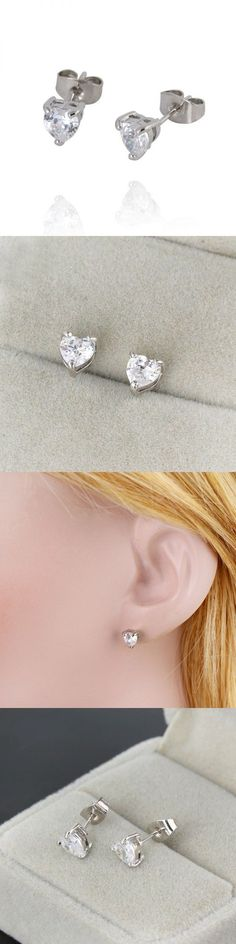 Sterling Silver Plated Retro Leopard Head Charm Earrings Women Stud Earrings