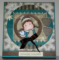 Handmade Winter Wishes card by rbowen on Etsy, $3.75