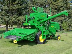 I drove one of these at my friend's farm when I lived in Kansas. Fun!