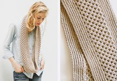 The Honey Stitch Cowl Knitting Pattern | http://sheepandstitch.com/honey-stitch-cowl-knitting-pattern/