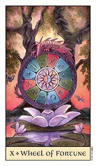 July 31 Tarot Card: Wheel of Fortune (Crystal Visions deck) Things are moving and changing quickly now. You cannot control these tides ~ trust in the process of the universe