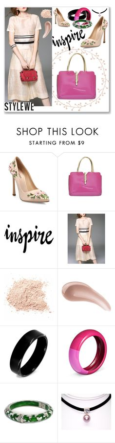 """""""StyleWe 43"""" by abecic ❤ liked on Polyvore featuring Giambattista Valli, WALL, Bare Escentuals, West Coast Jewelry, Angélique de Paris and stylewe"""