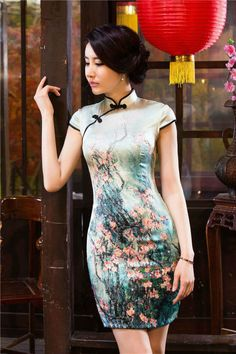 Would make a lovely top 😍! Oriental Dress, Oriental Fashion, Asian Fashion, Girl Fashion, Fashion Outfits, Ethnic Outfits, Ethnic Dress, Ao Dai, Chinese Gown