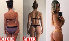 Perth woman reveals the secrets behind her a & bubble butt Perth woman Madalin Giorgetta Frodsham has shared the secrets behind her 'perfect' bubble butt. She says she works out her glutes six days a week with resistance bands, deadlifts and squats. Transformation Du Corps, Transformation Fitness, Transformation Pictures, Perth, Butt Goals, Bubble Butt Workout, At Home Glute Workout, Hamstring Workout, Gewichtsverlust Motivation