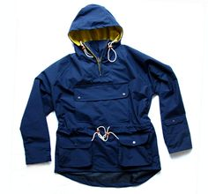 Casual Connoisseur Resistance Smock - due for 2013 release. Outdoor Outfit, Work Fashion, Designer Wear, Clothing Items, Smocking, Sportswear, Rain Jacket, Windbreaker, Raincoat