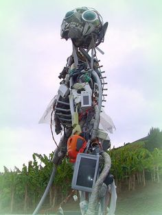 Junk Sculpture at The Eden Project